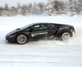 D1 Ultimate-GT Ice Driving